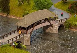 Faller 120494 # Oude houtenbrug