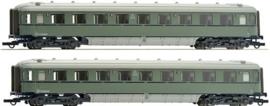 ROCO 64151 : Set van 2 personenrijtuigen 3e klas (NS)