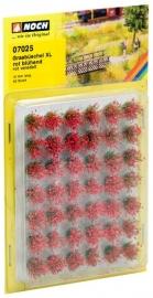 Noch 07025 : Bloeiende graspollen rood XL, 42 stuks