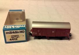Marklin 4411 :  Gesloten goederenwagen met sluitlicht