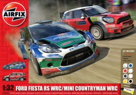 Airfix A501154 : Ford Fiesta RS WRC S Gift Set