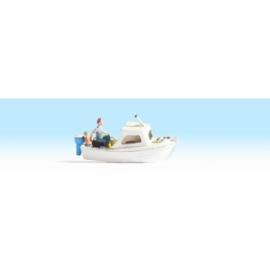 Noch 16822 # Vissersboot met 2 figuren