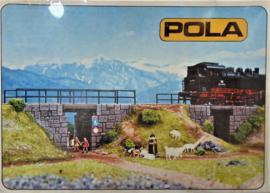Pola 809. Dubbele kleine spoor onderdoorgangen