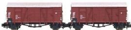 HobbyTrain H24903 : Gesloten goederenwagen Glms (DB)