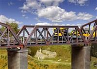 Kibri 39701 - Stalen brug, enkelspoor