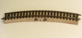 Märklin 5104. Gebogen contactrail.