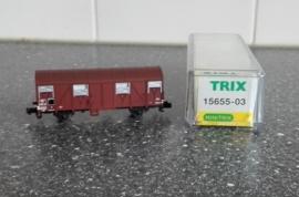 Minitrix 15655-03  Gesloten goederenwagen (SNCF)