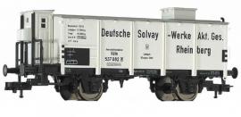 Fleischmann 5449K Goederenwagen met remmershuis (DRG)