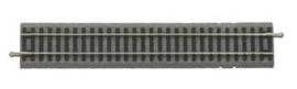 Piko 55406 (A) Rechte rail  voor aansluitstekker met bedding 231mm