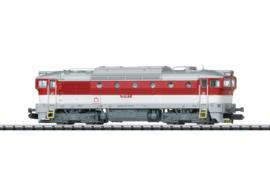 Minitrix 16736. Diesel locomotief BR  ZSSK (Tjechische spoorwegen)750
