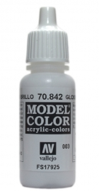 Vallejo 70.842 Gloss White, acryl verf (17 ml)