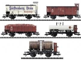 """Trix 23859 : Vijfdelige wagonset """"50 Jahre Baden-Württemberg"""""""