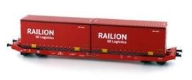 Mehanno 58789 Containertragwagen   (DB-Railion)