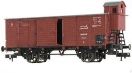 Fleischmann 5366 Kleinvee transsportwagen met remmershuis (DRG)