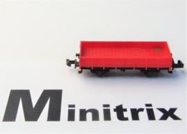 Minitrix. Open goederenwagen als 7832.