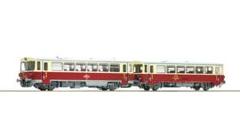 70373 - Dieselmotorwagen klasse M 152.0 en aanhangwagen, CSD