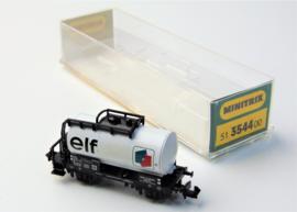 """Minitrix 3547. Tankwagen """"ELF"""""""