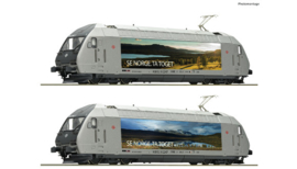 70658 - Elektrische locomotief EL 18 2247, NSB