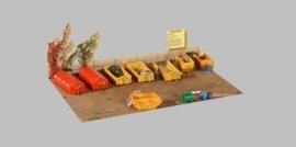 Kibri 38155 -  Vuilstortplaats (decoratieset)