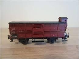 Fleischmann 5365 Veetransportwagen met remmershuis van de DRG