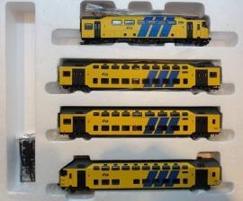 Rivarossi HR4138 Elektrisch dubbeldekkertreinstel MDDM (NS)
