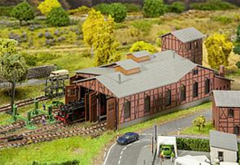 Faller 222113 : Locomotiefdepot-set