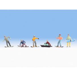 Noch 15826 # Snowboaders