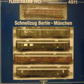 Fleischmann 4911 : Schnellzug Berlin-München (DR)