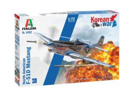 Italeri 1452#North American F-51D Mustang Korean War - 1:72