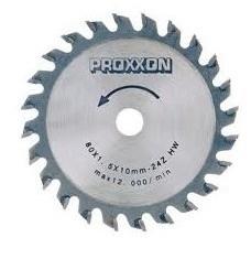 Proxxon 28734  Cirkelzaagblad HM-opgelast 80 mm 24 T