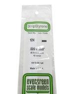 Evergreen 124 : Kunststof Strip 0.5mm x 2.0mm