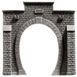 """Noch 34851# Tunnel portaal serie """"Steinmauer"""" enkel spoor"""