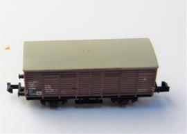 Minitrix 7840. Gesloten goederenwagen