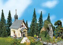 Faller 232239 : Kapel met klokkentoren