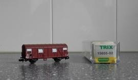 Minitrix 15655-02 Gesloten goederenwagen (SNCF)