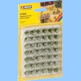 Noch 07028 : Graspollen veredeld XL, wit ( 42 stuks)
