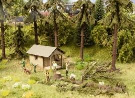 "Noch 12046 : Thema set ""Werkzaamheden in het bos"""