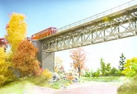 Noch 67010 : Stalen brug  (18.8 cm)