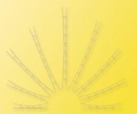 Viessmann 4157 : Universele rijdraden, 3 stuks
