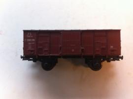 Trix Express 3993. Gesloten goederenwagen van de FS.