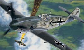 Italeri 053 # Messerschmitt BF - 109 F2/4