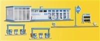 Kibri 38541 - Aral tankstation