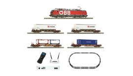 931900 - FLEISCHMANN Premium - Digitale startset z21: Elektrische locomotief serie 193 en goederentrein ÖBB