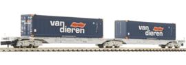 Fleischmann 825315 #  Dubbele draagwagen (NS)