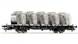 ROCO 66268  : Containervervoerwagen (DB)