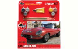 Airfix A55200 : Jaguar E-Type Gift Set