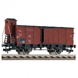 Fleischmann 5365 Gesloten goederenwagen met remmershuis van de DRG