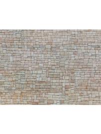 Noch 56642#3D Kartonplaat Kalksteen muur