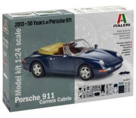 Italeri 3679 : Porsche 911 Carrera Cabriolet