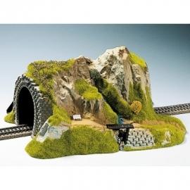 Noch 02200 # Tunnel enkelspoor, recht, 34 x 27 cm